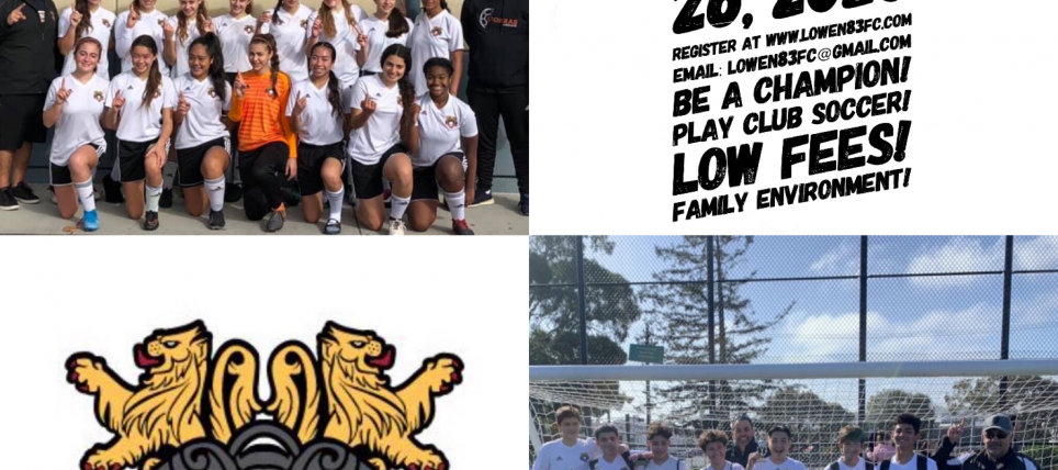 Lowen Fall 2020 Tryouts